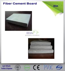 3/4 Inch Panel Fiber Cement Board Fireproof Wall Panels