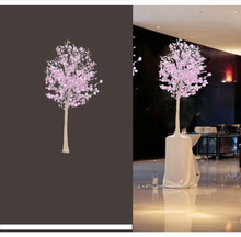 2014 hot sale flower decoration in stage decoration,artificial cherry blossom tree wedding decor