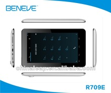 "R709E single core 7 inch RK2928 800*480 Android 4.2 512MB / 4G 2500MAH bluetooth 7"" rockchip rk2928 a9 tablet pc"