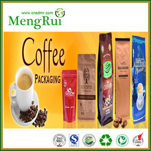 color printed one-way valve coffee packing bags