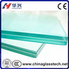 factory price high strength Two or three layers bullet resistant glass