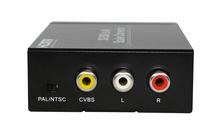 2014 popular BNC HD SD 3G SDI to AV CVBS PAL/NTSC Scaler Converter