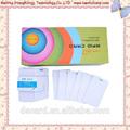 Heißer verkauf id card template, ausweis overlay hologramm