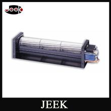 JEC-150A 240v ac cross flow fan fire place cross flow fan