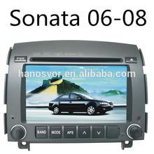HANOSVOR Car dvd player gps navigation and multimedia system for hyundai sonata nf 2008