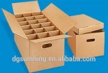Moving box Dish and glass packing box corrugated box