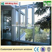 Aluminium/UPVC/Wood windows and doos, Customized design windows for homes