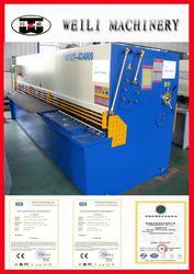 Top Quality Guillotine Design Advanced name plate cutting machine