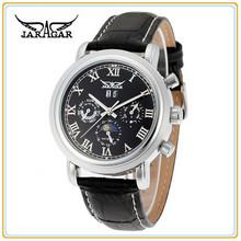 Jaragar Moon Phase Men Hand Watch automatic movement