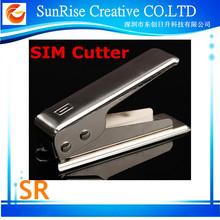 High Quality PVC Nano Sim Cutter For phone, Standard Sim to Micro Sim Card Punch Cutter