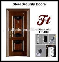 cardboard honeycomb door core steel door metal security doors