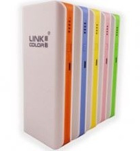 colorful rubber finishing rechargeable mobile legoo power bank, multifunction 18650 battery charger