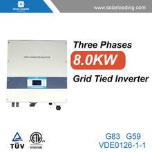 Nuevo diseño 8000 w generador del inversor generador para electricidad solar sistema de generación de para el hogar para solar potencia proyecto
