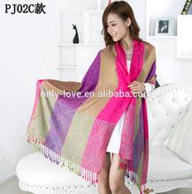 200cm x 70cm big size women winter pashmina scarf shawls cashmere scarf PJ02