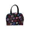 Fashion classical dot satin cosmetic bag,promotional cosmetic bag