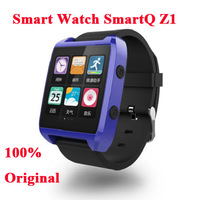 aoke watch phone 100% Original SmartQ Z1 Smart Watch For Iphone / Samsung Galaxy Note3 WIFI Bluetooth Android 4.3
