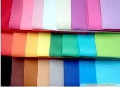 low price colored felt fabric
