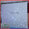 HOT WLK-2W White fireproof Velvet cloth White leds backdrop star curtain led stage light