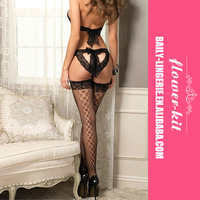 Newest popular open hot women lingerie pictures with underwear garters