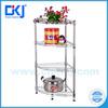 HKJ-B031 Popular Chrome Plated Kitchen Conner Wire Storage Rack