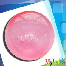 2014 Hot Sale Hollow Plastic Balls Rubber Bouncing Jumping Ball