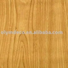 semi-rigid wood grain decorative film
