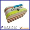 rigid paper suitcase, fancy suitcase paper bag, doll suitcase with ribbon velvet