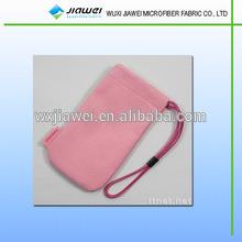 Logo Printed Microfiber Sunglasses Pouch/glasses Bag