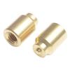 OEM brass welding spot long cap nut with TS16949 mark