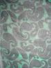 Discharge Print Silk Velvet