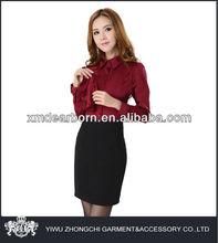 negro de las señoras faldas de oficina diseños
