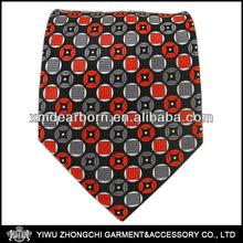 Scope - Black/Red/Gray Silk Ties for Men