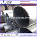 bs1387 gi tubo de ferro galvanizado diâmetro 100mm