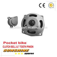 Clutch Bell Housing Gear Box Mini Moto Pocket Bike parts