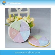 wholesale promotional round shaped sticky note