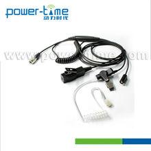 Finger PTT Air Tube Headset for GP900,GP1200,GP9000,HT1000,HT2000,JT1000(PTE-885)