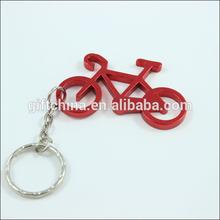 Aluminum alloy bottle opener, bicycle keychain, large supply