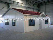 steel structure prefab modular guest house