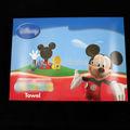 Desenhos animados e colorido caixa de dobrar papel, toalha de banho de embalagem, doll caixa de embalagem