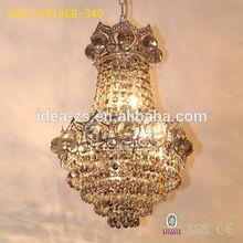 C9136B crystal lamp,iq puzzle light,lampara de techo