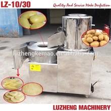 Stainless steel potato washing, peeling and slicing machine