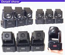 High quality cheap Mini quad Led Moving Head 30w