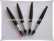 2014 novel design plastic writing brush style pen for office by supplier