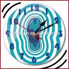 10th jordan 6 green sole wall clock
