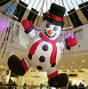 China inflatable christmas decorations Snowman