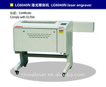 G.WEIKE 40W,60W LG6040N arts&crafts engraveing machine with CE&FDA certificate