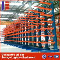 Powder Coating Long Single Side Cantilever Storage Racks Systems