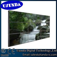 hot sale high brightness hdmi vga dvi input multi screen digital signage video wall