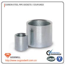 Carbon steel female full thread coupling electric Galvanized