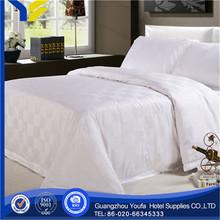 single bed manufacter stripe 100% polyester brush bedsheet fabric